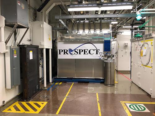 PROSPECT detector (Credit: PROSPECT collaboration)