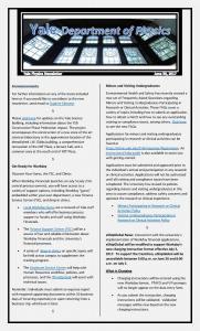 Weekly Newsletter June 30, 2017