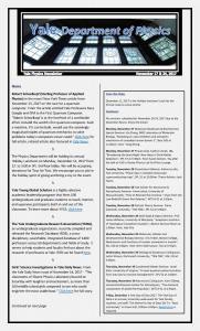 November 17-24, 2017 Newsletter
