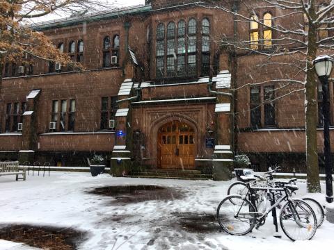 Emily Kuhn. Physics in the wintertime.