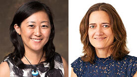 (c) Yale News. Reina Maruyama on the right and Shelly Lesher on the left