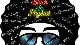 Black In Physics logo.