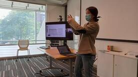 Giovanna Truong '23 (Credit: Yale Wright Laboratory/Victoria Misenti)