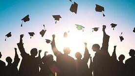 shadow graduates throwing caps from https://www.southwestjournal.com/voices/2017/05/for-the-graduates-toss-those-mortarboards-high-and-far/.