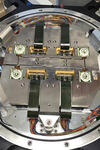 A view of the focal plate for the Mosaic3 camera. Photo credit: Yale Physics Department/Tom Hurteau